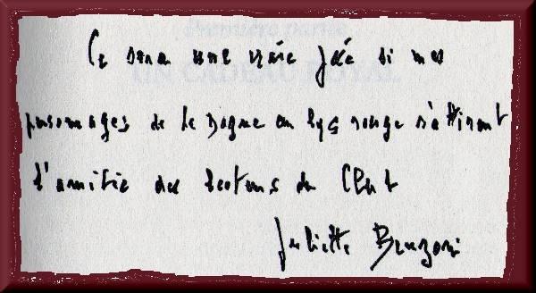 Editions Françaises dans 18.Le Bal des Poignards dedicacebal